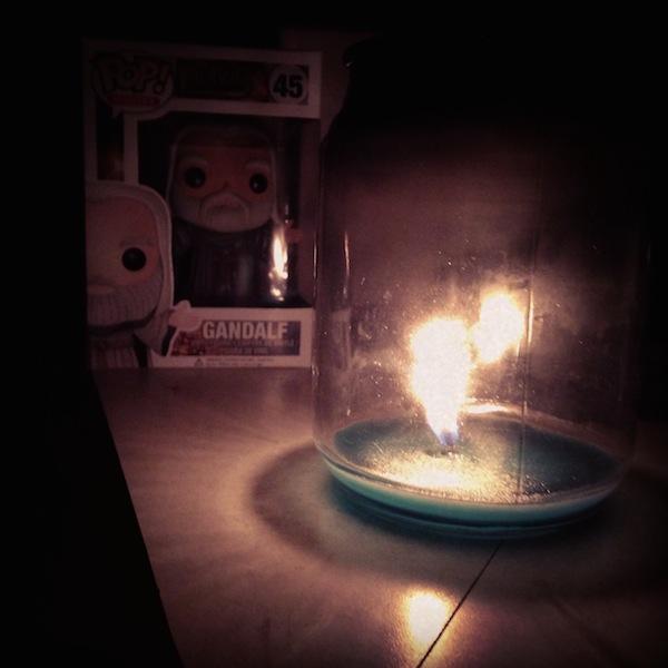 Gandalf's Candle / Copyright Mark Bousquet, 2014.